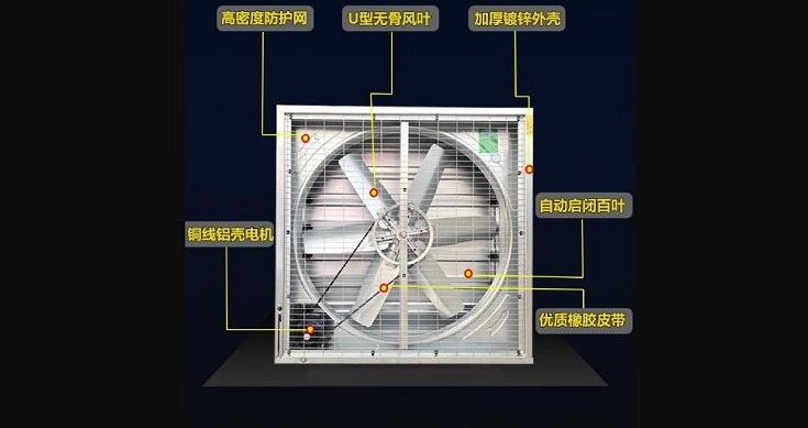 风机水帘降温系统温室大棚风机水帘降温系统